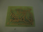 first attempt at pcb etching