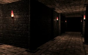 Dungeon crawler output after color grading test